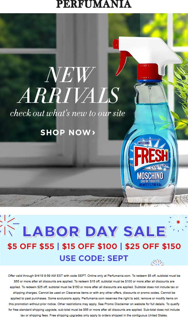 picture about Perfumania Coupon Printable referred to as Perfumania Coupon codes - $10 off $70 at Perfumania, or 25