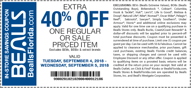 Bealls coupons & promo code for [January 2021]