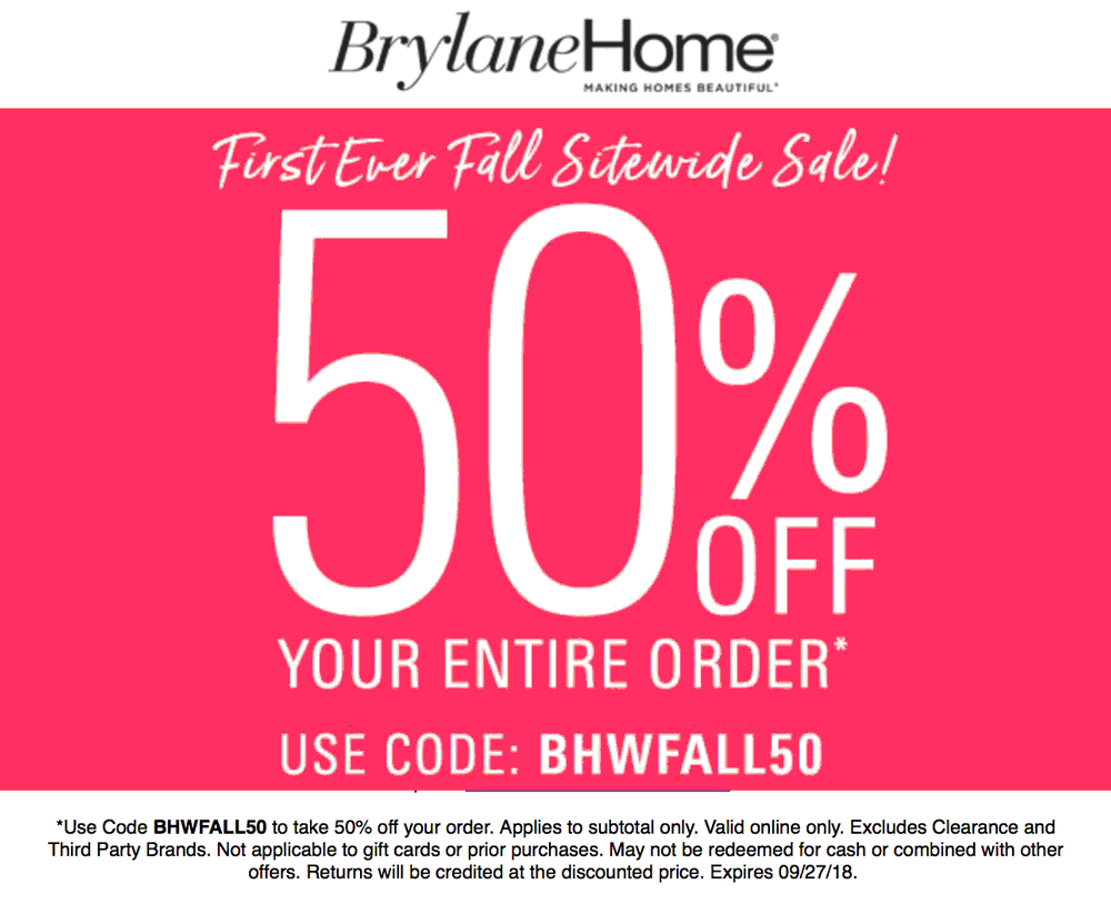 Brylane Home coupons & promo code for [February 2020]