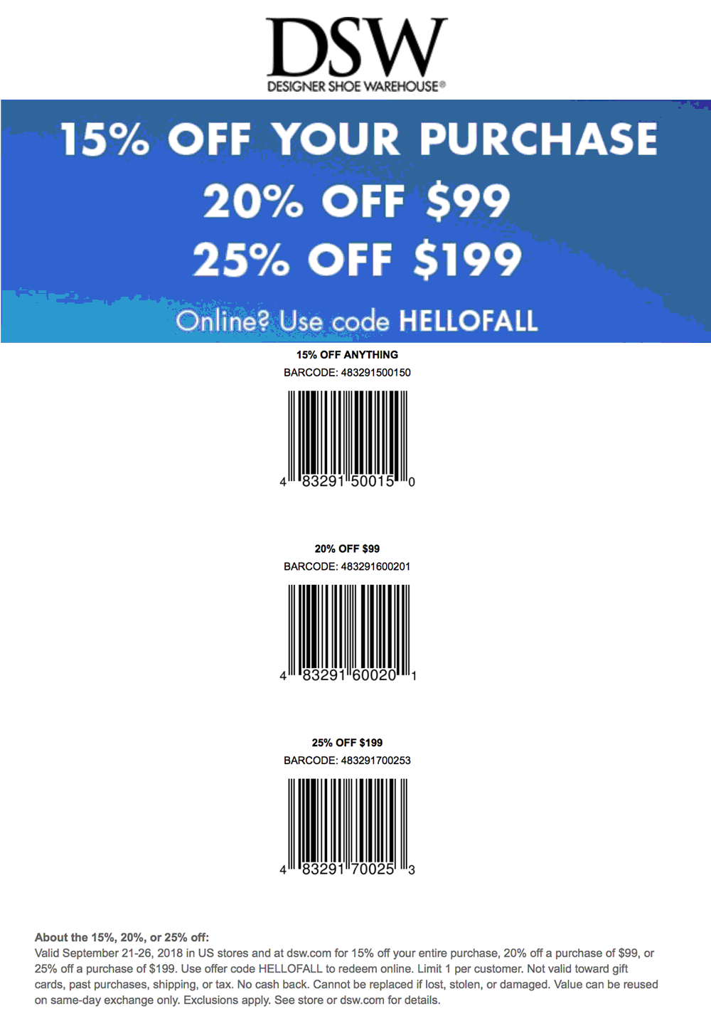 dsw coupons june 2019 in store