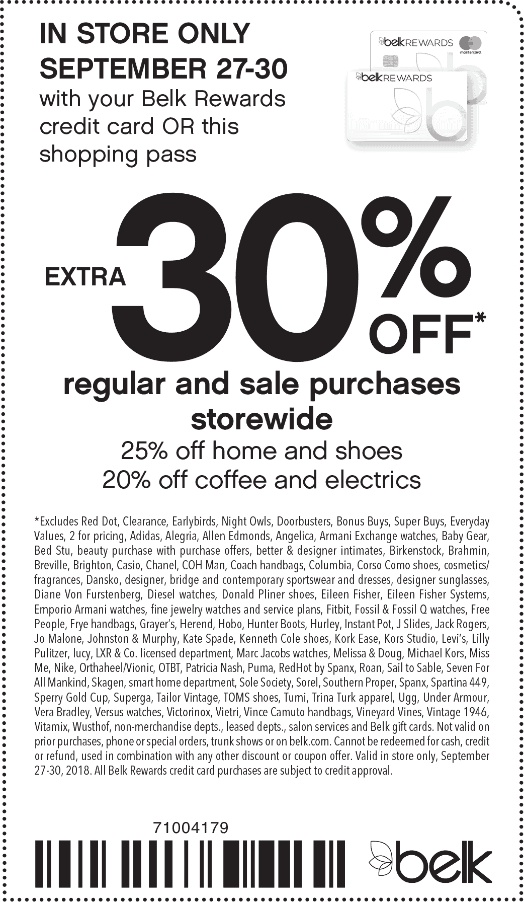 Belk coupons & promo code for [February 2020]