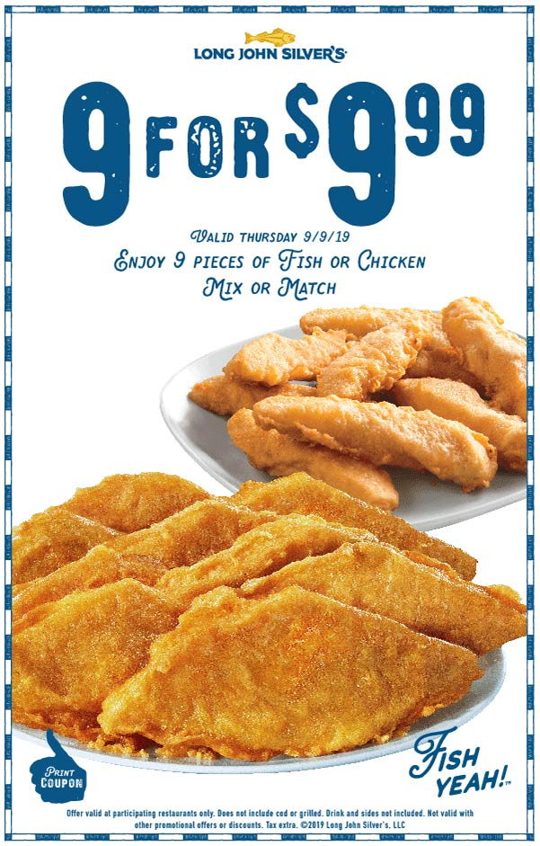 Long John Silvers coupons & promo code for [May 2021]