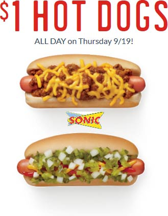 Sonic Drive-In coupons & promo code for [May 2021]
